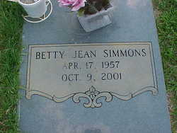 Betty Jean Simmons