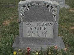 Earl Thomas Archer