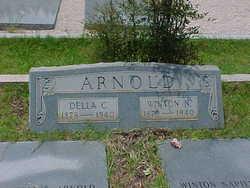 Adelia ''Della'' Estelle <i>Collins</i> Arnold