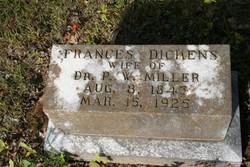 Frances H <i>Dickens</i> Miller