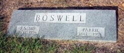 John Sidney Sid Boswell