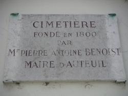 Cimetiere d'Auteuil