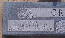 Melinda Pauline <i>Fowler</i> Critz