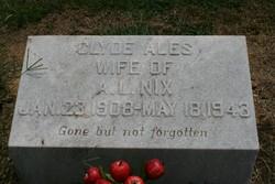 Clyde <i>Ales</i> Nix