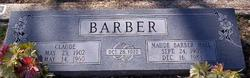 Maude <i>Hall</i> Barber