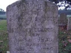 Mary C. <i>Swinson</i> Elmore