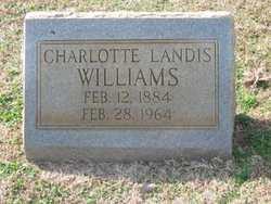 Charlotte <i>Landis</i> Williams