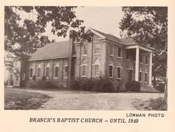 Branchs Baptist Church Cemetery