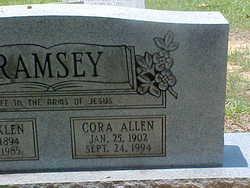 Cora Allen <i>White</i> Ramsey