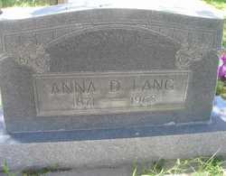 Anna Dorothy <i>Rachuig</i> Lang