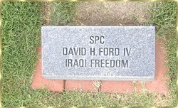 Spec David H. Ford, IV