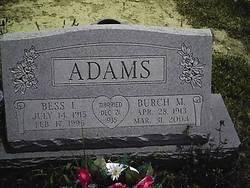 Bess I Adams