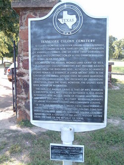 Tennessee Colony Cemetery