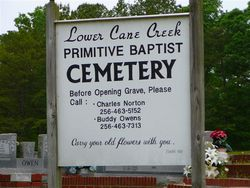 Lower Cane Creek Cemetery