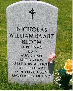 LCpl Nicholas William Baart Bloem