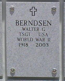 Walter George Wally Berndsen