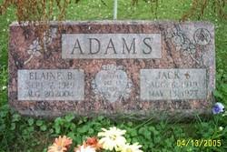Elaine B <i>Bronson</i> Adams