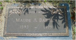 Maude A. <i>Martin</i> Badsky