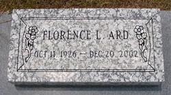Florence Loretta <i>Barnett</i> Ard