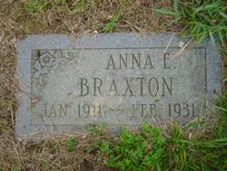 Anna E Braxton