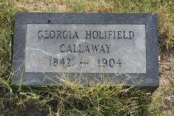 Georgia <i>Holifield</i> Callaway