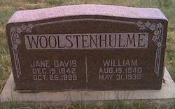 Jane <i>Davis</i> Woolstenhulme