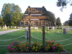 Hope Cottage Grove Cemetery