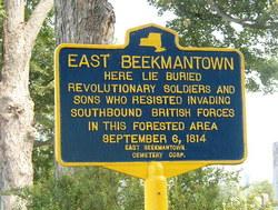 East Beekmantown Cemetery