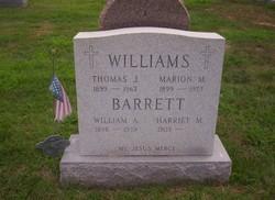 Harriet M Barrett