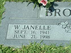 Willie Janelle <i>Finley</i> Brookshire