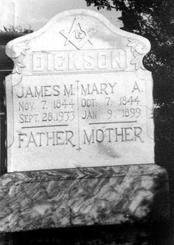 Mary Ann <i>Scruggs</i> Dickson