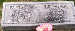 Wallace Partridge