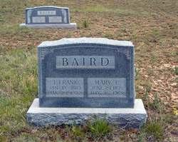 James Franklin Uncle Frank Baird