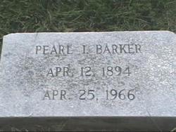 Pearl I Barker