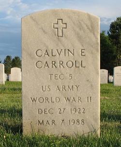 Calvin E Carroll