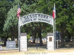 Desdemona Cemetery
