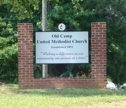 Old Camp United Methodist Church Cemetery