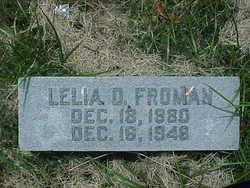 Lelia Elizabeth <i>Hollis</i> Froman