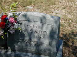 Mary Kathleen Kathy Autry