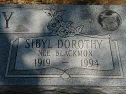 Sibyl Dorothy <i>Blackmon</i> Autry
