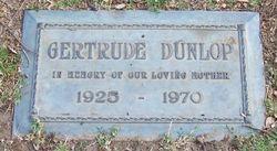 Gertrude Dunlop