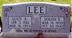 Lucy Ann <i>Hankins</i> Lee