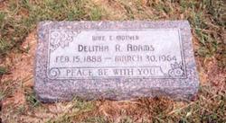 Delitha Rebecca <i>Long</i> Adams