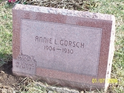Annie Lelia <i>Grimm</i> Gorsch