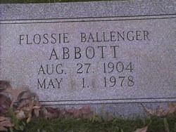 Flossie <i>Ballenger</i> Abbott