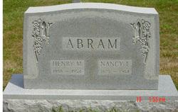 Nancy Elizabeth <i>Hendricks</i> Abram