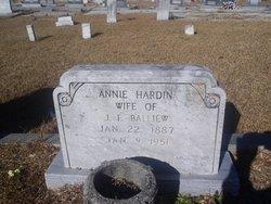Annie <i>Hardin</i> Balliew