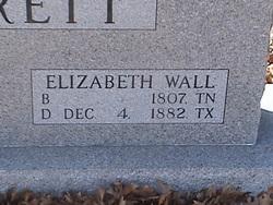 Elizabeth <i>Wall</i> Vivrett