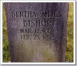 Bertha <i>Meigs</i> Bishop
