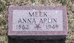 Anna <i>Aplin</i> Meek